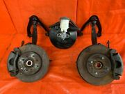 99-00 Civic Si Em1 Front Spindle Set W/ Calipers And Brake Booster - Spindles Oem