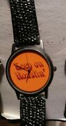 Vintage 1996 Starbucks 25th Anniversary Collectible Roastin' Watch - See Others