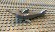 Lego Vintage Grey Sawfish Shark With Moving Posable Mouth Rare