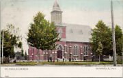 Dunnville Ontario St. Paul's Church Dr Jane Bell And Goderich Rpo Postcard G40