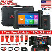 Autel Mk908 Obd2 Diagnostic Tool Scanner Ecu Coding And Key Coding Better Mk906bt