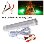 30w 2400lm Led Green Underwater Submersible Boat Fishing Light Squid Dock Lamp