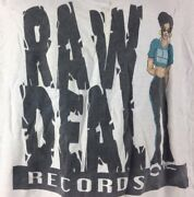 Vintage Raw Deal Records Shirt 90s Easy E Hip Hop Rap 2 Pac Nwa Street Style