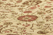 10x14 Camel Brown Handknotted Rug Wool Indian Oriental Carpet Discount Hand Made