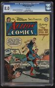 Action Comics 192 Cgc Vfn Second Highest Graded Great White Pages