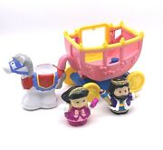 Fisher Price Little People Lil Kingdom Castle King Princess Horse And Carriage