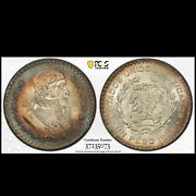 1966-mo 1 Peso Pcgs Ms-67 Highest Graded In The World Silver Coin Km 459 Coin