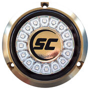 Shadow-caster Led Lighting Scr-16-gw-bz-10 Great White Single Color Underwater