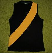 Vintage Richmond Tigers 70and039s Afl 1974 Game/match Worn Player Jersey Shirt Iev