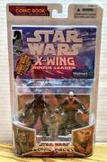 Star Wars Comic Pack X-wing Rogue Leader Storm Commando And General Weir Exclusive