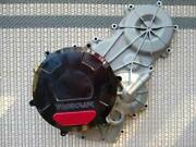 Panigale Woodcraft Right Side Clutch/ Engine Cover With Skid Pad