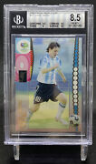 Lionel Messi 2006 Panini World Cup Germany Bgs 8.5 46 Argentina Mt Rare
