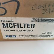 Efd Nordson Microcoat Filter Assembly Lot 425607 New Old Stock