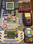 Vintage Handheld Electronic Video Games Lot 80s 90s Tested Working