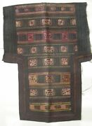 Antique Chinese Minority People's Old Hand Embroidery Baby Carrier