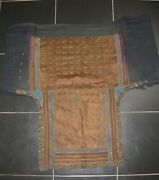 Chinese Miao Peopleand039s Old Hand Embroidery Baby Carrier