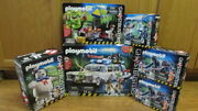 Playmobil Ghostbusters Lot 9220 Ecto-1 9221 9222 9224 2 X 9223 New