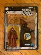Star Wars Vinyl Cape Jawa 2011 Sdcc Jumbo Kenner Figure By Gentle Giant New