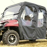 Full Cab Enclosure With Aero-vent Windshield For Full Size Polaris Ranger Crew