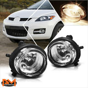 For 07-16 Mazda Cx-5/cx-7/cx-9 Clear Lens Front Bumper Driving Fog Light/lamps