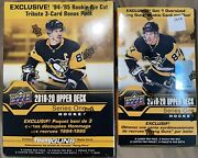 17 Packs 2019-20 Upper Deck Hockey Series 1 Young Guns Mega Box + Blaster Box
