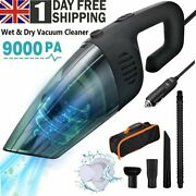 9000pa Portable Handheld Vacuum Cleaner Cordless Home Car Pet Hair Rechargeable