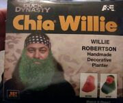 Chia Willie Robertson- Duck Dynasty Pottery Planter W/ Chia Seeds