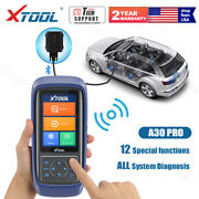 Xtool A30 Obd2 All System Diagnostic Tool Scanner Epb Abs Srs Sas Dpf Engine Vin