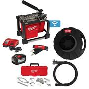 M18 Fuel Cordless Drain Cleaning Sewer Sectional Machine Kit With 7/8 In. Cable
