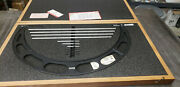 Starrett 224m 400-500mm Outside Micrometer Set With Standards In Case. Lot5