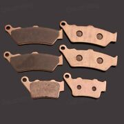 Front Rear Metal Sintering Brake Pads Fit For Bmw F650gs/cs/st F700gs F800gs/gt