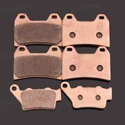 Motorcycle Front Rear Metal Sintering Brake Pads Fit For Bmw F800s F800r F800st