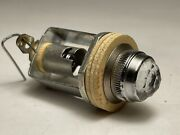 Vintage Drake Pilot Light Assembly W Clear F Style Jewel Lens For Tube Amplifier
