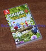 Pikmin 3 Deluxe Edition Nintendo Switch Brand New And Factory Sealed