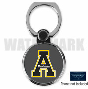 Appalachian State Mountaineers Custom Round Mobile Phone Ring Holder Stand