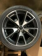 Set Of Genuine Ford Wheel And Tire Assembly Lr3z-1007-c Mustang Ecoboost