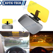 Hd Day Night Anti Glare Car Sun Visor Extension Glasses Strong Secure Clip On
