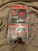 Lot Of 2- Craftsman 35 Drill And Drive Set