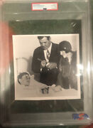 Babe Ruth And Johnny Sylvester Original Type Iv Photo 1926-ruth Hit 3hrs 4 Him-psa