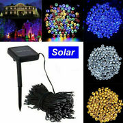 10-200m Led Christmas Fairy String Lights In/outdoor Garden Waterproof 8 Modes