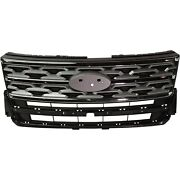 Jb5z8200ak Capa Grille Grill For Ford Explorer 2018-2019