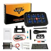 8 Gang Switch Panel Led On-off Car Electronic Relay System Box For Truck Atv Utv