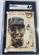 Ernie Banks 1954 Topps Rookie Card 94 Hof Cubs Rc Investment🔥sgc Authentic