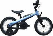 Blue Segway Ninebot Kidand039s Bike For Boys And Girls 14 Inch With Training Wheels