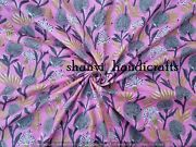 Fabric Stori - Fabric By The Yard- Cotton Fabric With Hand Block Print Hand