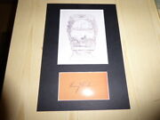 Henry Ford Mounted New Ex Libris Book Plate And Preprint Autograph Mount Size A4