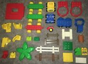 Lego Duplo Replacement Radar Ladder Base Fence Wall Cars Tree Table Rattle