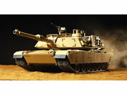 Tamiya Rc 1/16 Battle Tank M1a2 Abrams Rtr Ready To Run Full Set Built And Painted