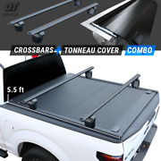 2014-2021 Tundra 5.5ft Bed Tonneau Cover Retractable Waterproof Hard + Crossbar
