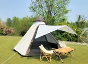 India Outdoor Double Layer New Pergola Tower Windproof Tent For Camping Picnic